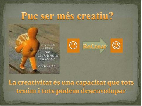 Desenvolupar Creativitat